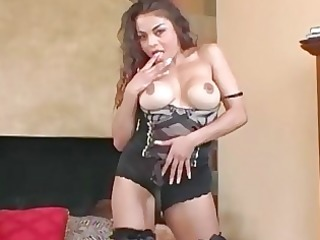 breasty d like to fuck teases in nylons a