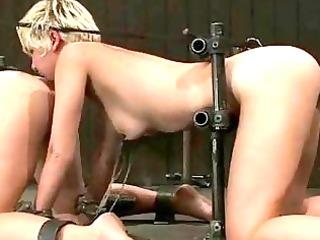 breasty prisoner used as sex villein