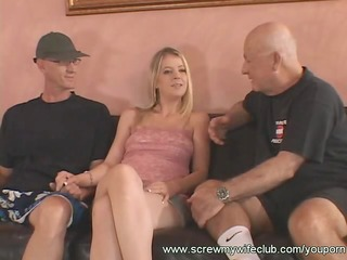 glamorous wife deeply drilled