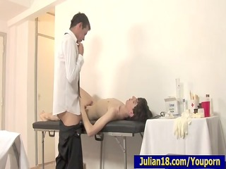 doctor testing outstanding julian