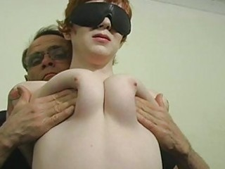 serf gagged and wet crack whipped