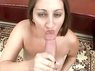 sexy big beautiful woman fantastic oral-job