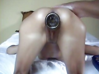french brunette hair angel fingered and fisted