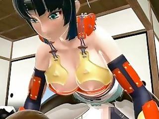 2d japanese anime sexy riding ramrod by lady-boy