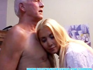 breathtaking golden-haired nure swallows senior