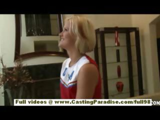 jasmine jolie dilettante blond cheerleader with
