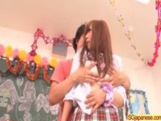 japanese in school uniform fucking hard clip-410