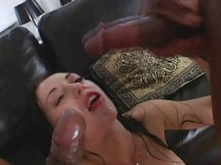 monster pounder double anal act n facial