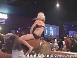 underware bull riding and underware contest
