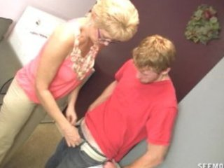 girlfriends mama desires to clean his shlong with