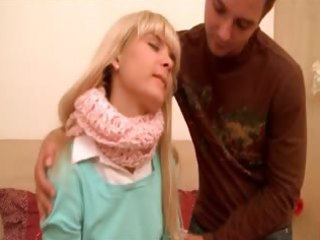 cute russian winter oral-stimulation