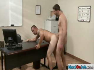 constricted a-hole fucking at the office part10