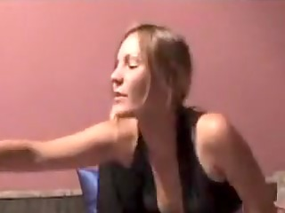 hot blond enjoys anal masturbation