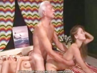bikini sweetheart seduces a senior dude