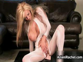 hawt blond mother i with biggest boobs acquires