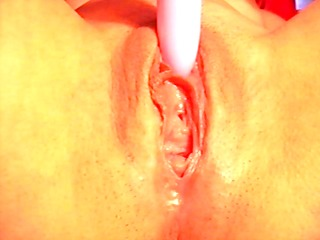 very juicy muff and orgasm...