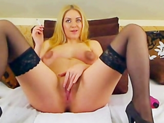 smokin preggo masturbating on webcam