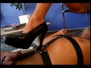 pleasing female-dominant acquires her love tunnel