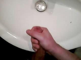 me in washroom