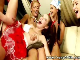 femdom cfnm teenies demand fucking from behind