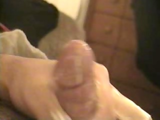 jerking with lotion