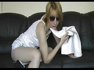 unattractive whore bonks the heel
