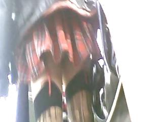 upskirt scotich petticoat