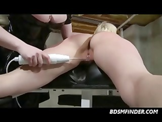 shackled spanked and electrified
