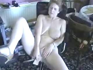 119 years old wife masturbating. non-professional