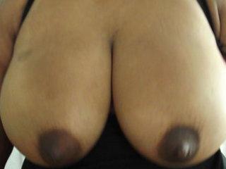 large latin chick boob shake