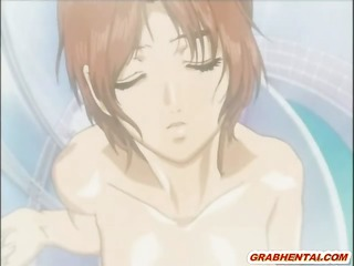 anime hotty sexy shoved by swarthy pervert chap