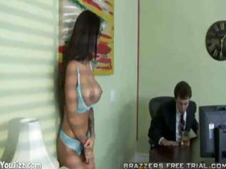 a real office bitch - angelina valentine - part 4