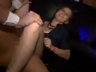 gal receives drilled during a party