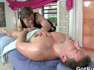 fellow acquires his booty oiled up and drilled