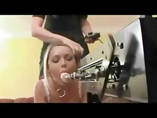 blondes in nylons machine and ding-dong fuck