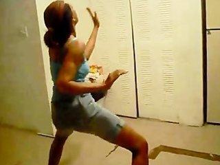 teenies shaking their large booties