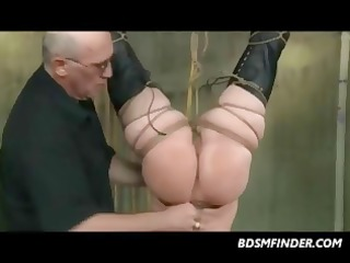 wicked dark brown whore acquires her limber