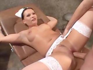 nurse check up and fuck