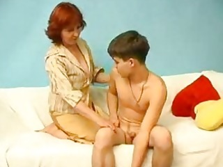 legal age teenager guy plunging mature bitch in