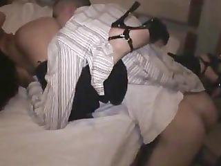 loud sex at interracial fuckfest