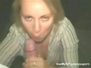 gf gives oral-sex and acquires facial jizz flow