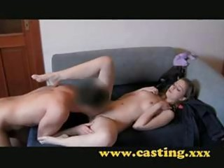 appealing hottie casting try-out st time charming