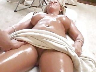 alluring and hot massage