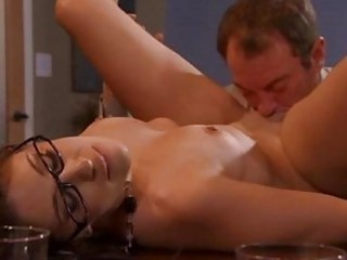 office floozy abby rode knows just how to receive