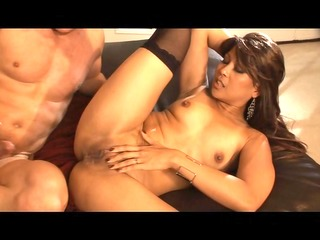oriental takes it is in her constricted butt