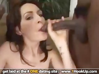 mia starr receives double permeated by dark rods