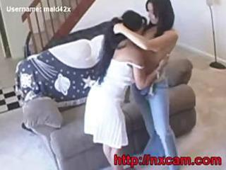 maid bonks husbands wife on baby livecam
