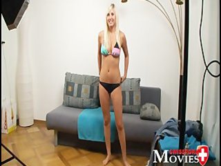 porn interview wirth golden-haired teen-model