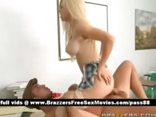 youthful exposed golden-haired schoolgirl on the