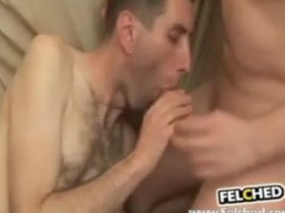 brokeback males creampie and cum sharing